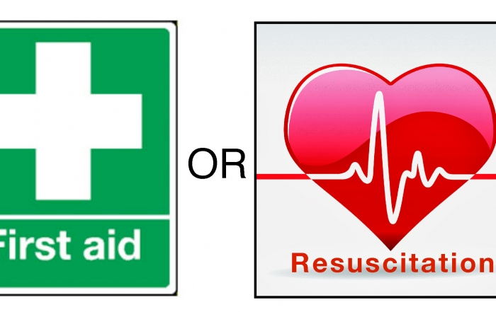 first aid vs resus